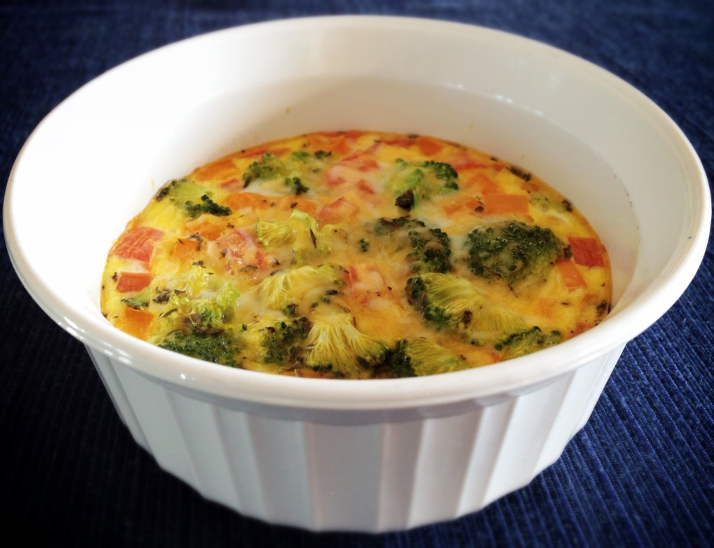 Individual Breakfast Quiche