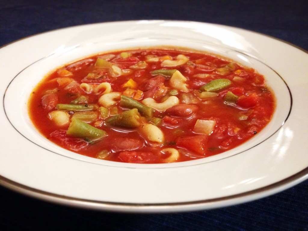 Heart-Healthy Minestrone Soup