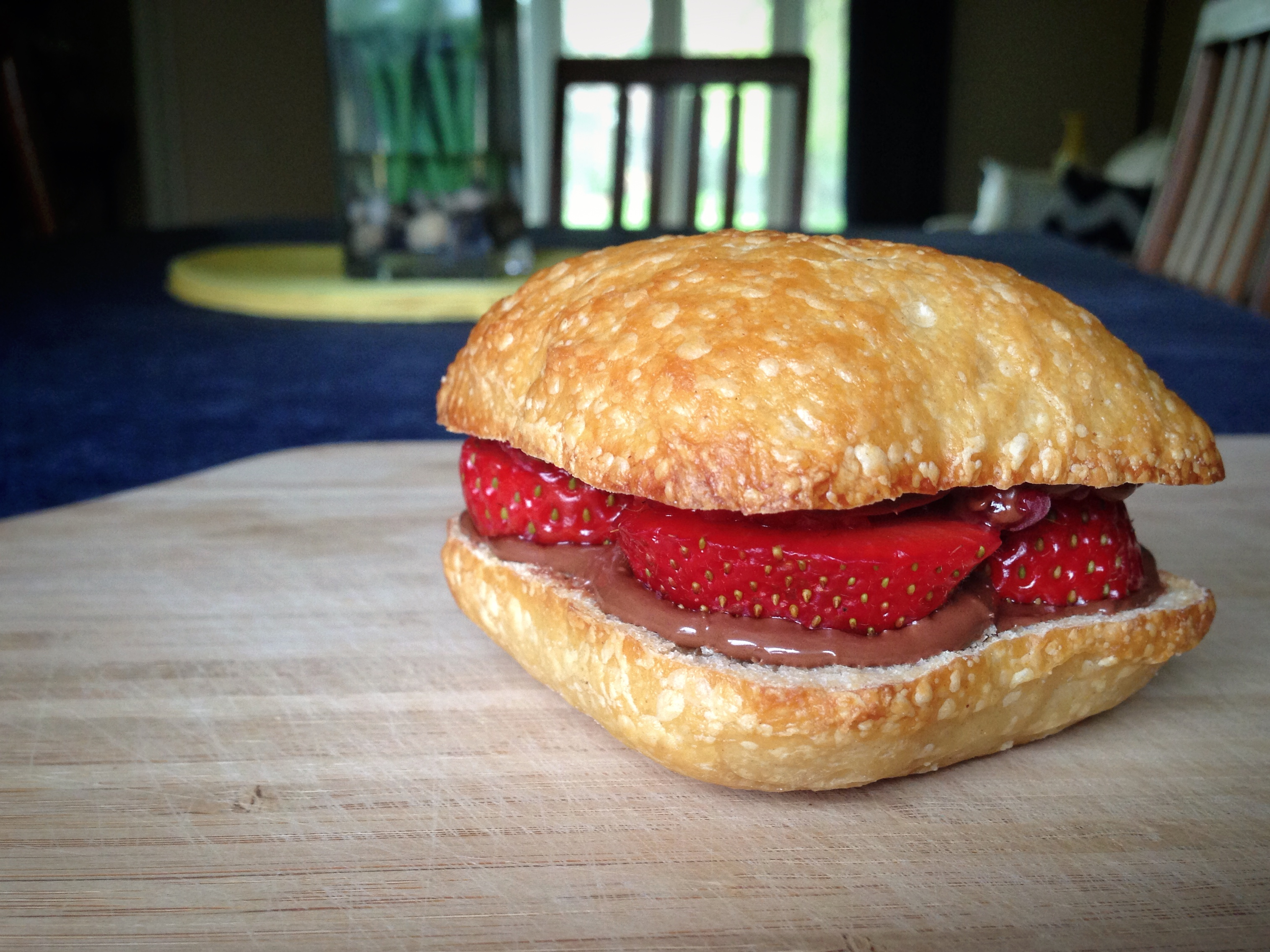 Sweet Berry Mini Focaccia Sammies