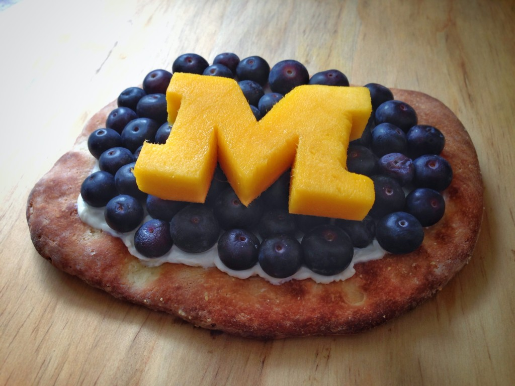 M Go Blue Pizza