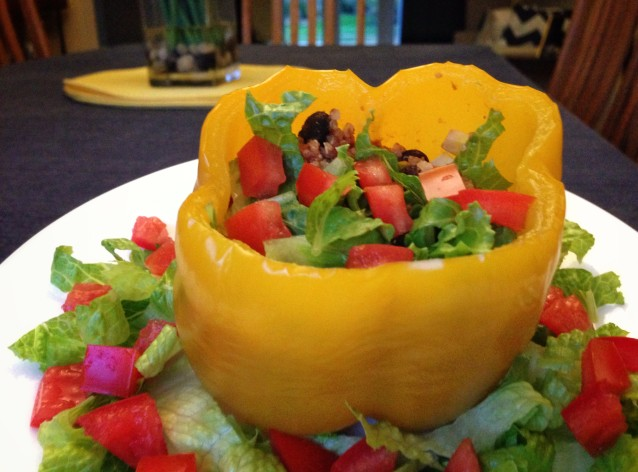 Mexican Stuffed Sweet Peppers
