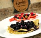 Blueberry Cream Cheese Omelettes