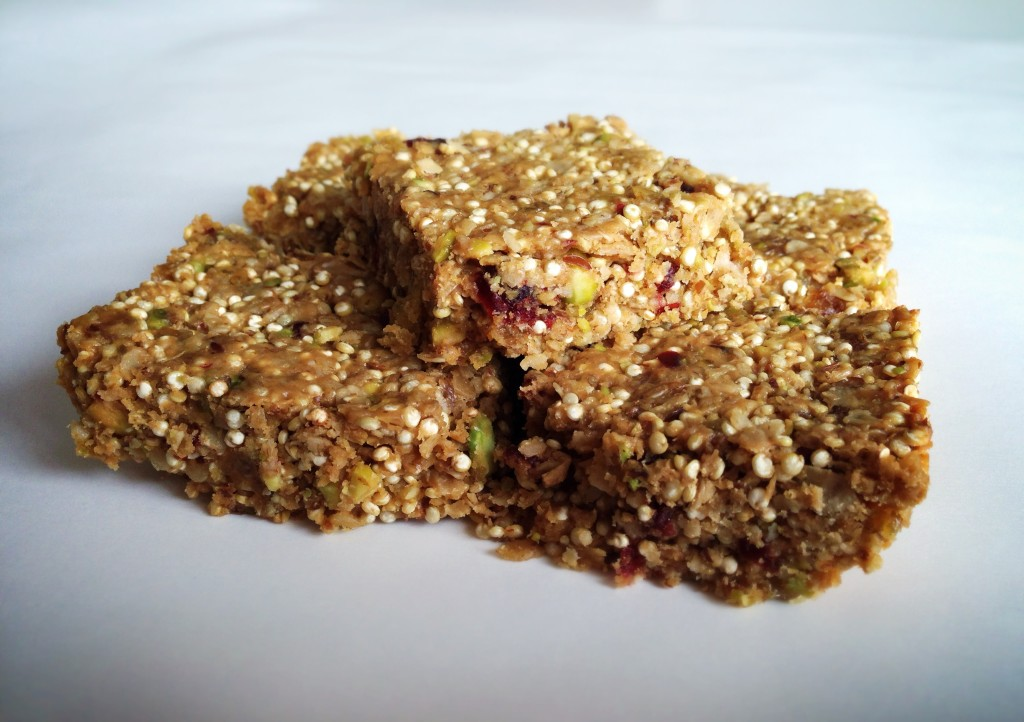 Chewy Fruit & Nut Granola Bars